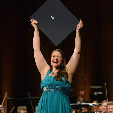 Lise Davidsen, first prize winner 2015. Photo: Marius Nyheim Kristoffersen.